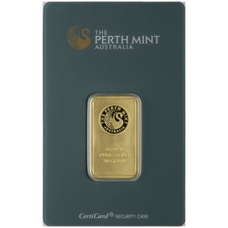 20 gram Gold Bar - Perth Mint