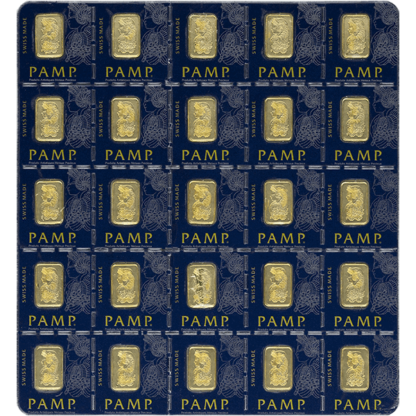 25 gram Gold Multigram - PAMP Suisse