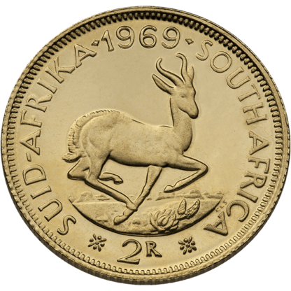 South Africa Gold 2 Rand