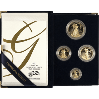 4-piece American Gold Eagle Proof Set