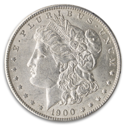 Pre-1921 Circulated American Silver Morgan Dollar (Dates Vary)