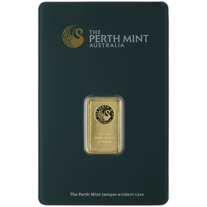 5 gram Gold Bar - Perth Mint