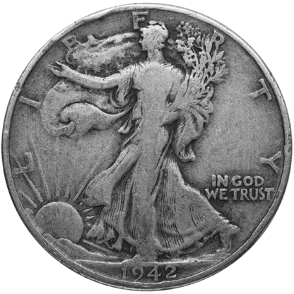 90% American Silver Coins - Walking Liberty