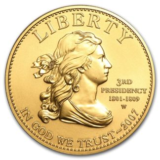 1/2 oz. Gold First Spouse (BU)
