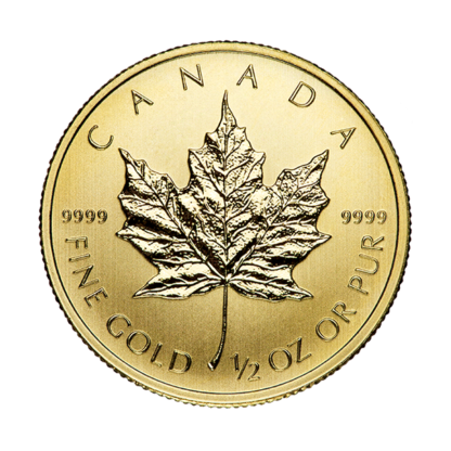 1/2 oz. Canadian Gold Maple Leaf (BU)