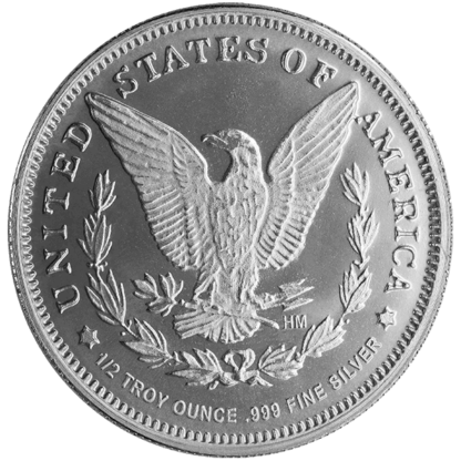 1/2 oz. Silver Round Morgan