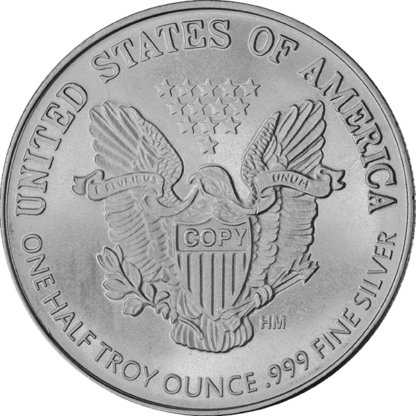1/2 oz. Silver Round Walking Liberty