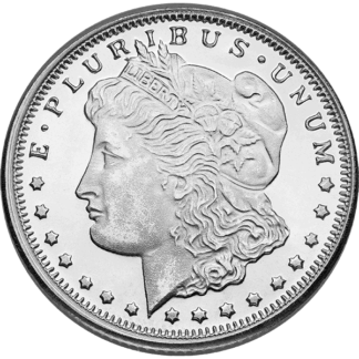 1/4 oz. Silver Round Morgan