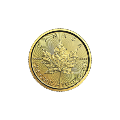2018 1/10 oz. Canadian Gold Maple Leaf (BU)