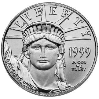 1/4 oz. American Platinum Eagle (BU)