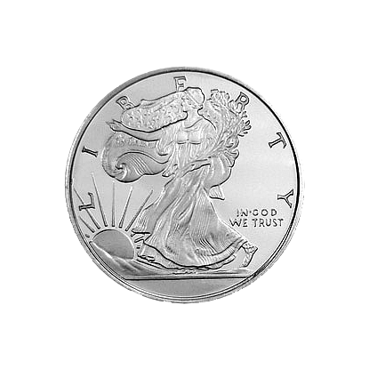 1/2 oz. Silver Round Walking Liberty - Golden State Mint