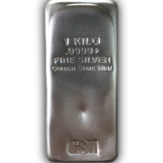 Kilo Silver Bar - Golden State Mint