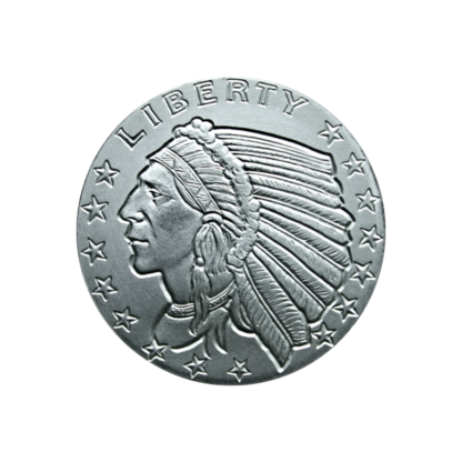 1/4 oz. Silver Indian Round Incuse - Golden State Mint