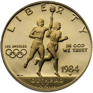 $10 Gold Olympic Coin (BU)