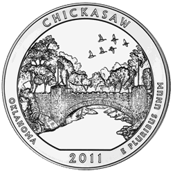 5 oz. Silver America the Beautiful Chicasaw
