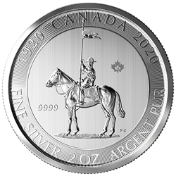 2020 2 oz. RCM Mounted Police 100th Anniversary