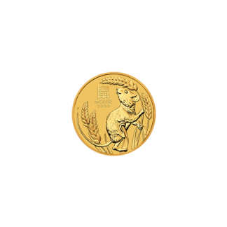2020 1/20 oz. Perth Mint Gold Mouse (BU)