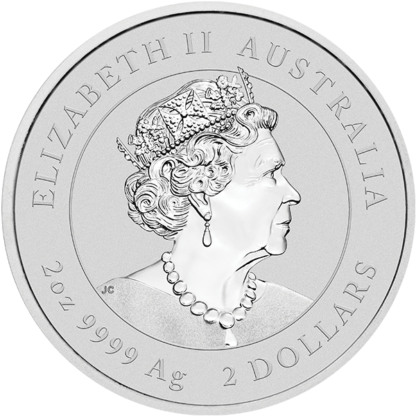 2020 2 oz. Perth Mint Silver Mouse (BU)