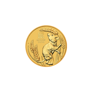 2020 1/10 oz. Perth Mint Gold Mouse (BU)