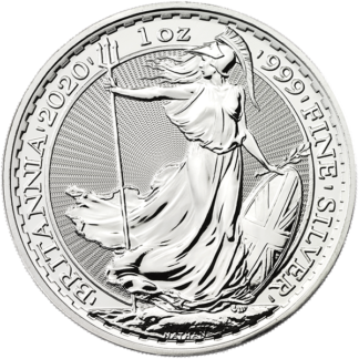 2020 1 oz. Great Britain Silver Britannia (BU)
