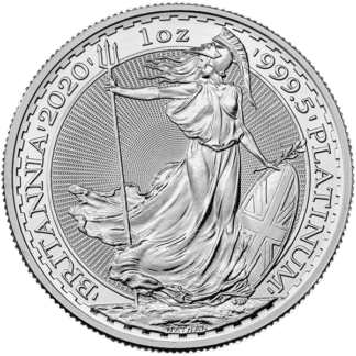 2020 1 oz. Great Britain Platinum Britannia (BU)