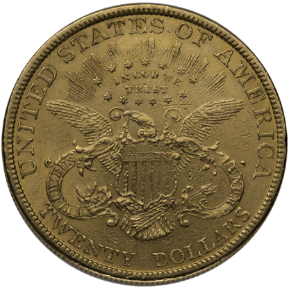$20 Gold Liberty Double Eagle XF (Dates vary)