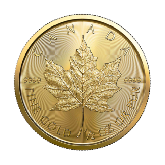 2020 1/2 oz. Canadian Gold Maple Leaf (BU)
