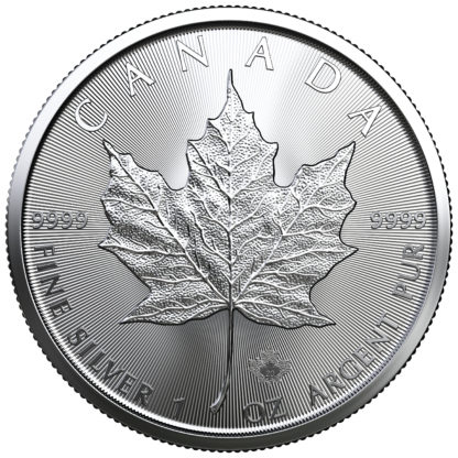 2020 1 oz. Canadian Silver Maple Leaf (BU)