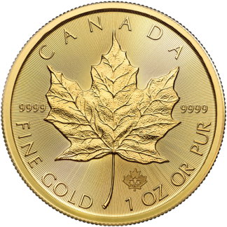 2020 1 oz. Canadian Gold Maple Leaf (BU)