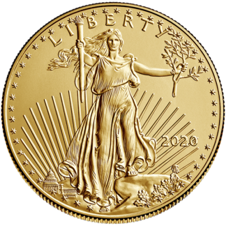2020 1 oz. American Gold Eagle (BU)