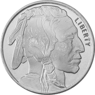1/2 oz. Silver Round - Types Vary