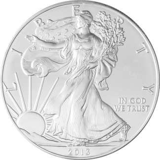 1 oz. American Silver Eagle  (BU) (Dates Vary)