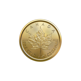 2020 1/10 oz. Canadian Gold Maple Leaf (BU)