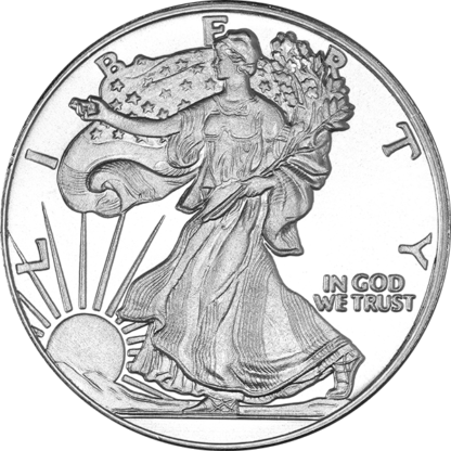 1 oz. Silver Round Walking Liberty
