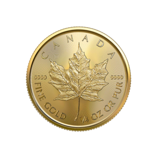 2020 1/4 oz. Canadian Gold Maple Leaf (BU)