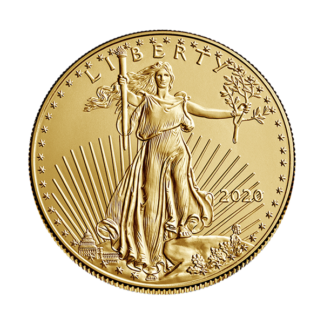 2020 1/2 oz. American Gold Eagle (BU)