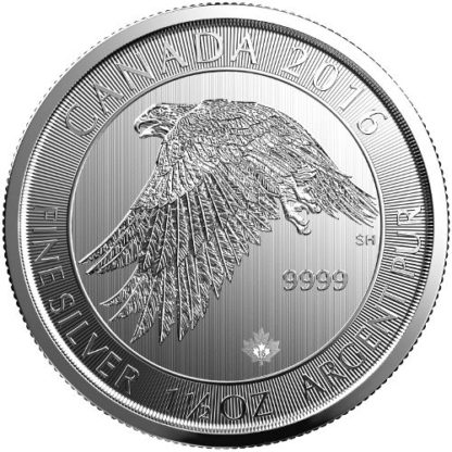 2016 1.5 oz. Silver Falcon - Royal Canadian Mint (BU)