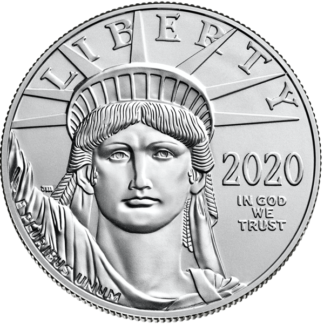 2020 1 oz. American Platinum Eagle (BU)