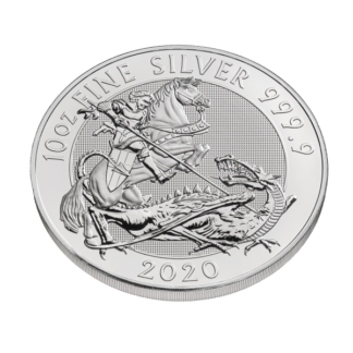 2020 10 oz. British Silver Valiant (BU)