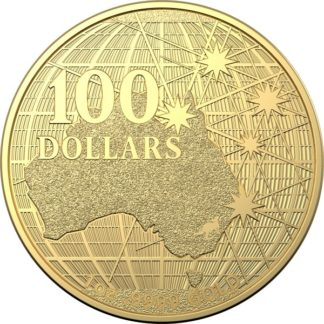 2020 1 oz. Australian Gold Beneath the Southern Skies (BU)