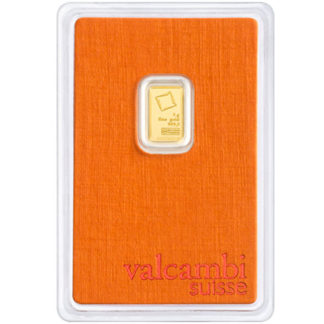 1 Gram Gold Bar Valcambi (Types Vary)