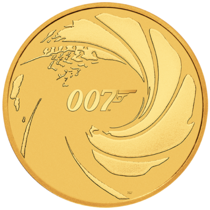 2020 1 oz. Gold James Bond 007 (BU)