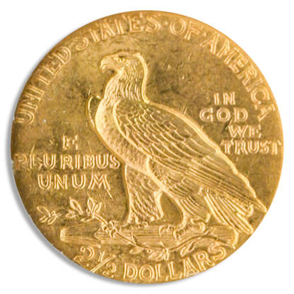 $2 1/2 Indian MS63 Certified
