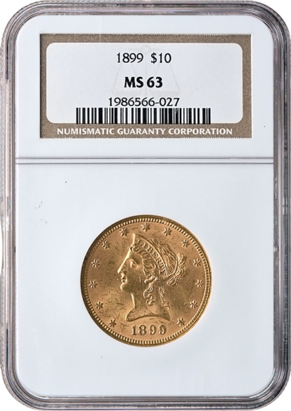$10 Liberty MS63 Certified