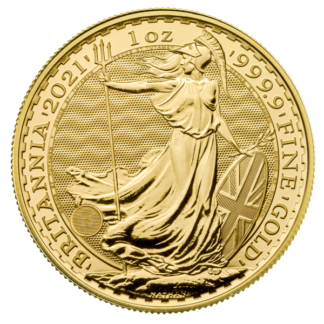 2021 1 oz. Great Britain Gold Britannia (BU)