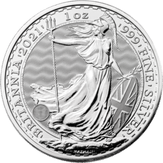 2021 1 oz. Great Britain Silver Britannia (BU)