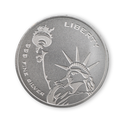 1 oz. Silver Round Freedom and Liberty Asahi Mint