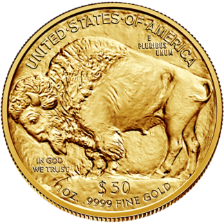 2021 1 oz. American Gold Buffalo (BU)