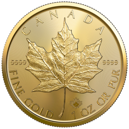 2021 1 oz. Canadian Gold Maple Leaf (BU)