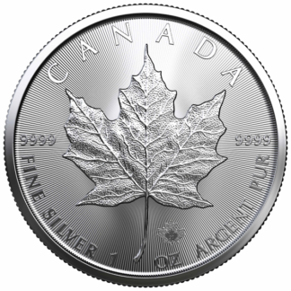 2021 1 oz. Canadian Silver Maple Leaf (BU)